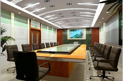 视频矩阵_多媒体会议室效果图集 - 视频会议,电话会议,会议系统,会议音响 ...